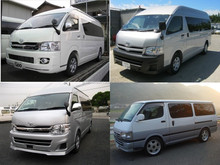 Reliable and Durable used toyota hiace van at reasonable prices long lasting