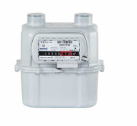 2 BAR ALUMINIUM GAS METER