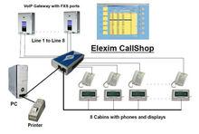 Elexim Call Shop Billing