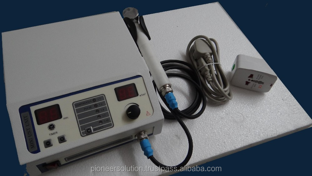 ultrasound machine relief