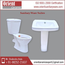 Latest Stock Of New Arrival Ceramic Sanitary Ware Suite At Affordable Price
