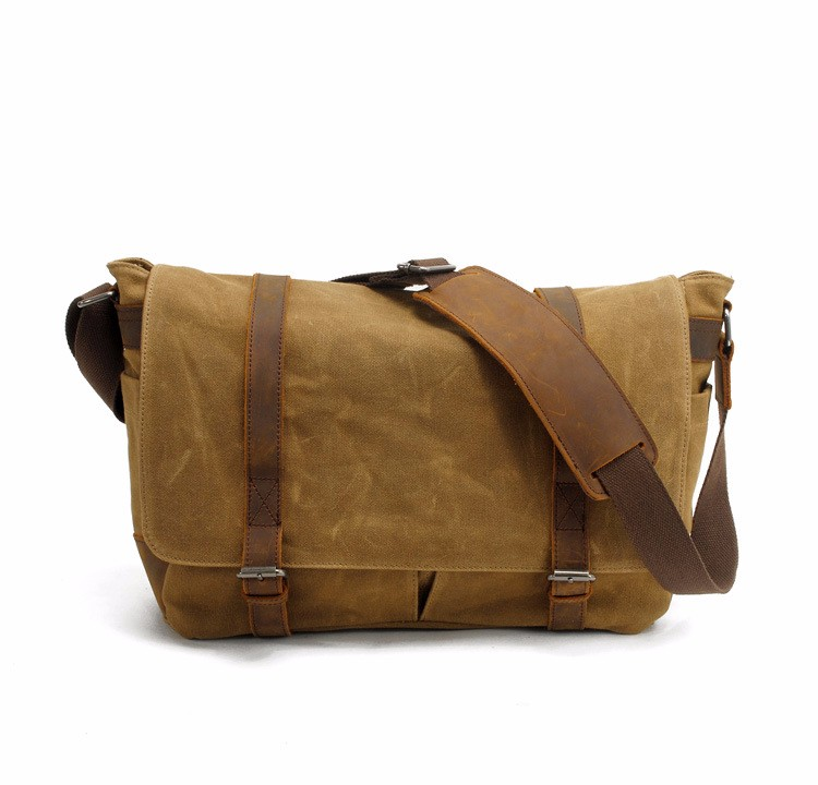 canvas messenger bag with leather trim  (10).jpg
