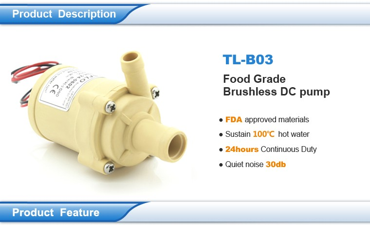 Food grade pump, high temperature water pump,solar pompe 12v dc