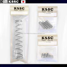 Convenient Standardized helical compression spring for bathroom dispenser with multiple functions made in Japan