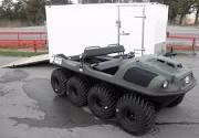 Argo 8x8 750 HDi ATV / UTV Amphibious Off-Road Enclosed Trailer Package