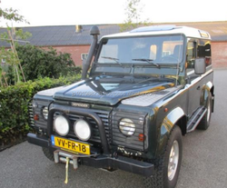 USED CARS - LAND ROVER DEFENDER 90 TDI (LHD 7480)