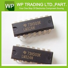 (IC OPAMP GP 1.2MHZ 14DIP) LM324N From WP Supply