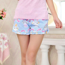 Inventory Item Cartoon Cats, Rabbits Cotton Summer Ladies Sexy Short Pajamas