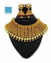Antique Designer Dulhan Necklace Set Earrings