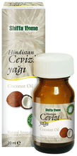 Coconut Oil Brand Shiffa Home Bottle 20 ml Glass Bottle Herbal Cosmetic Skin Body Massage Oil GMP ISO
