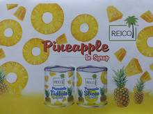 Canned Pineapple in Light Syrup (3.03kg)