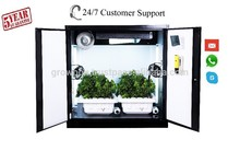 Hydroponic Indoor Gardening System Home Growing Cabinet/Locker polycarbonate grow room