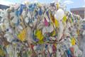HDPE botella reciclada en balas