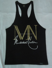 cotton gym singlet,100 cotton men tank top,custom gym singlets