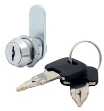 """FJM Security Products MEI-1480-KD High Security Pagoda Lock, 5/8"""" Cylinder, Chrome Finish, Keyed Different"""