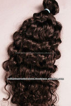 High quality unprocessed raw Indian remy hair; hot sale Indian raw remy hair; Raw Indian remy human hair