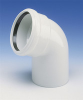 High Density Material AS BEND/ELBOW Fitting 45 degree DN70 pipe and fitting for waste water