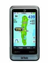 "Buy 2 get 1 free Discount Price For 2014 NEW RELEASE GOLF BUDDY PLATINUM 4 GOLF GPS/RANGEFINDER 4"" LCD -SILVER"