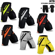 MTB Cycling Short Off Road Bicycle With CoolMax Padded Liner Short Dimex