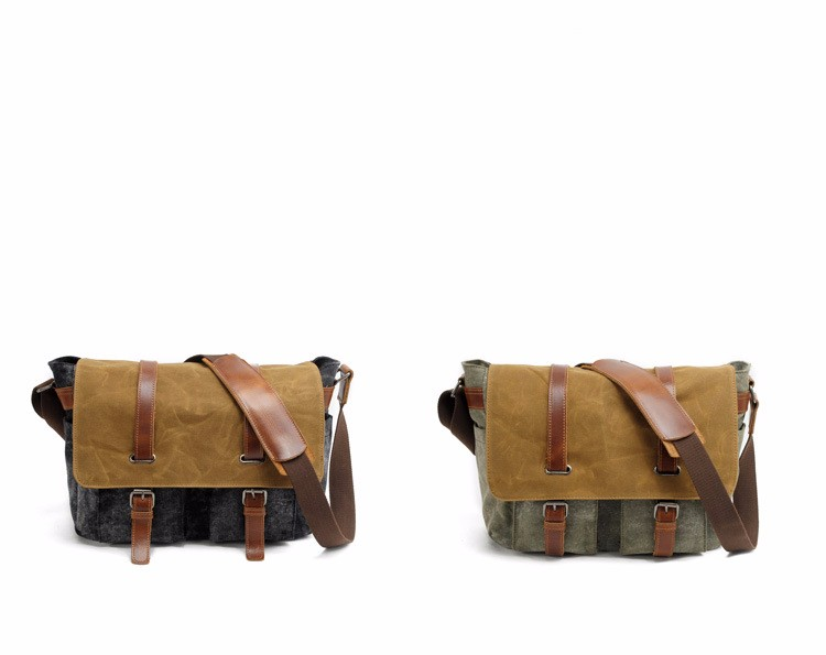 waxed canvas DSLR camera messenger bag  (6).jpg
