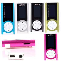 Mini Clip USB LCD MP3 Music Player Support 16GB MicroSD TF Card With LED Light #66310