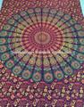 indio hippie tapices sábanas de la cama multi color de ropa de cama plana
