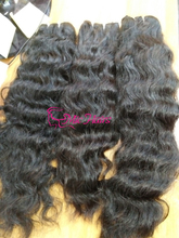 Cambodian wavy hair natural coarse virgin hair.