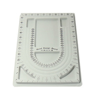 23.5x33x1.5cm grey Plastic Bead Design