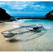 The Transparent Canoe Kayak.