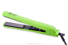 "Golden Curl Ceramic 1.25"" Floating Plates Hair Straightener - The Green"