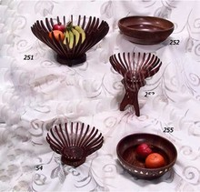 WOODEN STYLE FRUIT BASKET