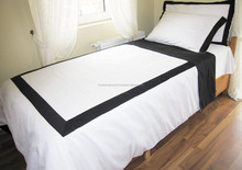 color double-side cotton plain duvet cover Duvet Cover Bedding Set Microfiber Brushed Polyester Solid/Plain Color