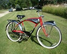 BUY 2 GET 1 FREE ; 1990s SCHWINN DELUXE CRUISER MENS TANK BIKE VINTAGE B6 PHANTOM BICYCLE+SPRINGER