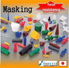Best-selling and Low-cost china masking for industrial use