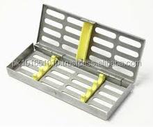 Iso del CE aprobado Dental casete, cuadro instrumentos dentales dental, Pak contra sobretensiones Dental Cassette para 20 instrumentos