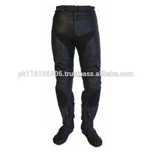 Mens motociclo giacche in pelle, pantaloni di pelle collezione