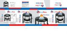 Indian Blue flame kerosene gas stove wick Classic Brand