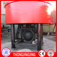 JW750 pan concrete mixer manual control