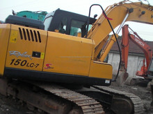 150LC-7 Hyundai Crawler Excavator For Sale,In Good Condition and Reasonable Price