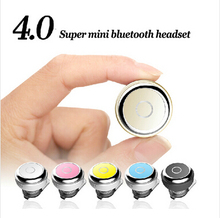 Super mini Stereo bluetooth 4.0 headset wireless in ear sport handfree earphone headphone universal for iphone samsung phones
