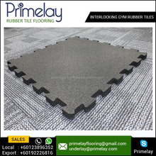 Factory Supply Interlocking Safety Gym Rubber Tiles for Sale