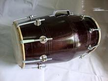Dholak tambores 18 perno sintonizado por con MANGO <span class=keywords><strong>de</strong></span> madera DHOLKI YOGA BHAJAN KIRTAN MANTRA indio instrumento Musical