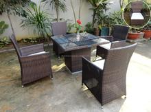 Top sales 2015 new design Rattan wicker sets vietnam furniture manufacturer for dining room