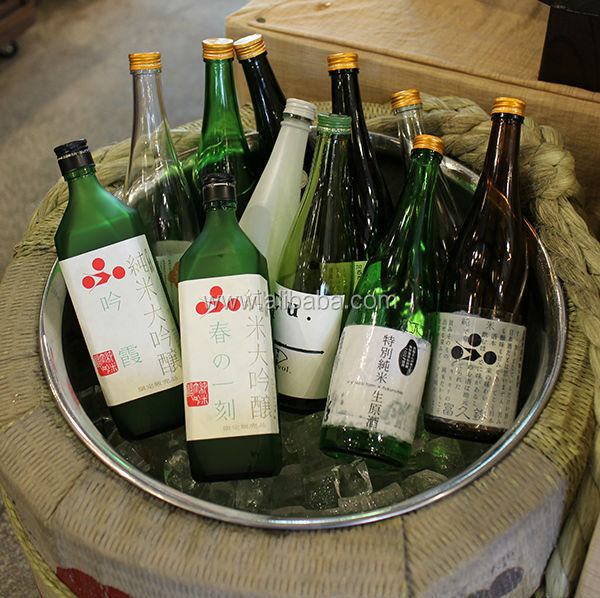 Japanese high quality and traditional sake for drinking beverage