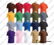 High Quality of T Shirt 100% Cotton, Cotton+Polyester, Polyester made in Thailand