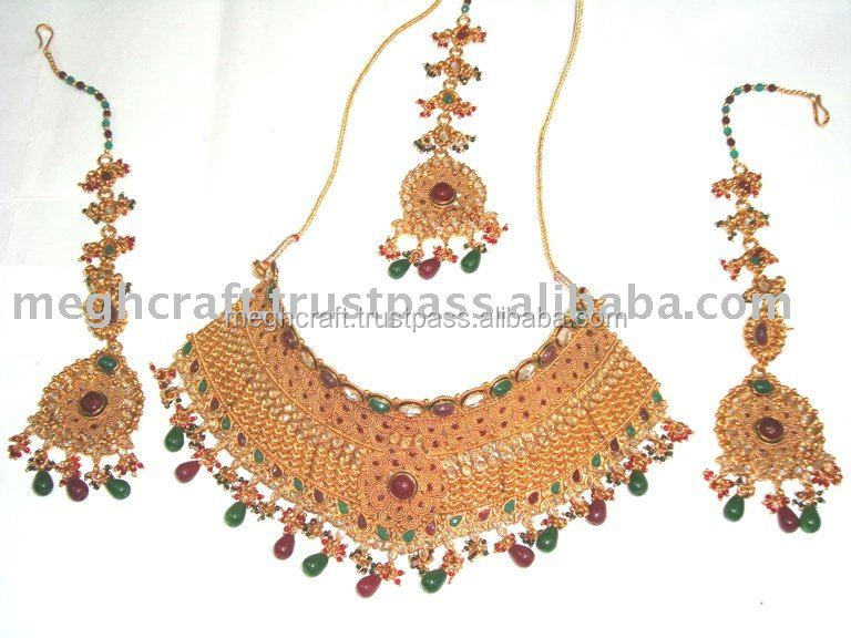 Indian wedding wear dulhan set bollywood fashion designer for Fashion designer craft sets