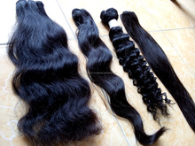 New hot!!! Straight/ wavy/ Curly Hair Extension 100% Vietnamese Remy Human Hair, Brazilian hair High Quality, Factory Price