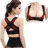 Women Adjustable Shoulder Back Posture Corrector Chest Brace Support Belt Vest