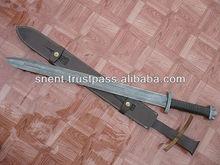 The Viking Damascus steel sword