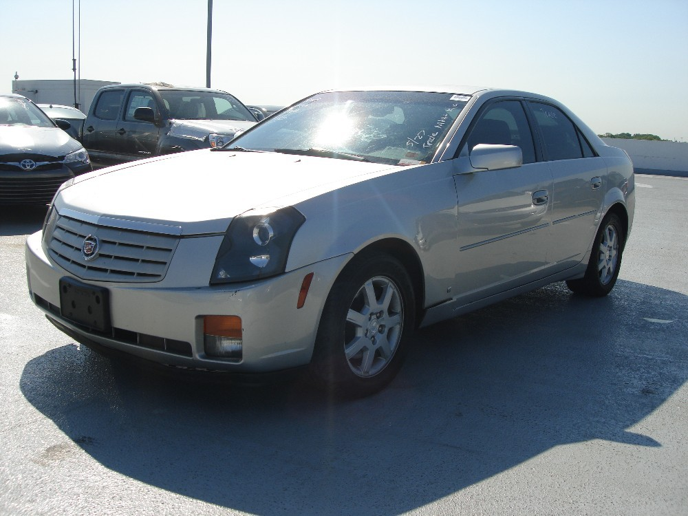 2006 cadillac cts silver used buy cadillac cts. Black Bedroom Furniture Sets. Home Design Ideas